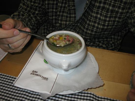 Wirtshaus am See: Vegetable soup