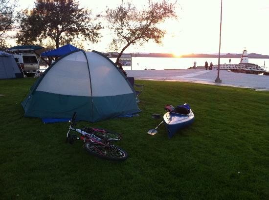 Lake Havasu: beachfront property 2012 Havasu Paddlefest