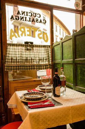 """Antica Fiaschetteria del Chianti: il nostro""""privè"""""""