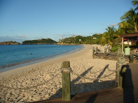 Galley Bay Resort: Gally Bay beach