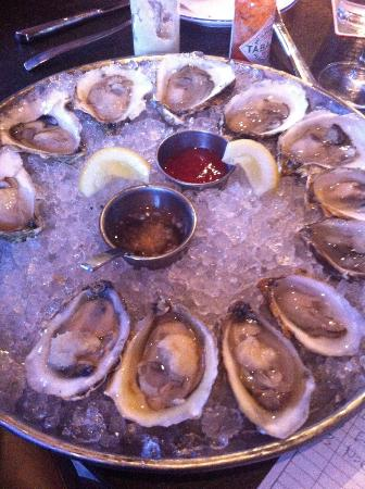 Island Creek Oyster Bar: Island Creeks, Chathams, East Beach Blondes, and Norhern Cross oysters