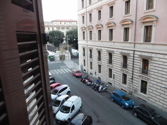 Deko Rome: the view from the room