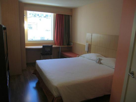 Ibis Copacabana Posto 2: Zimmer mit Blick nach hinten