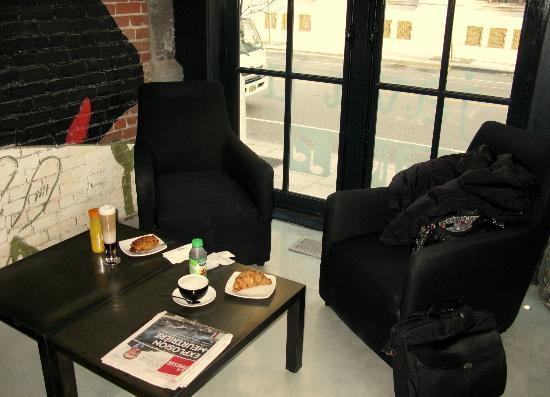 Java U: our breakfast corner