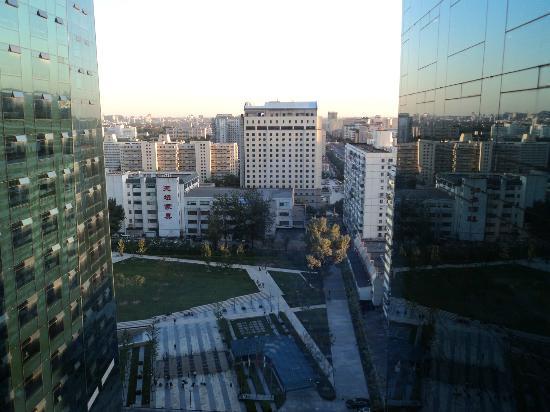 Sheraton Grand Beijing Dongcheng Hotel: From my room overlooking park area next door