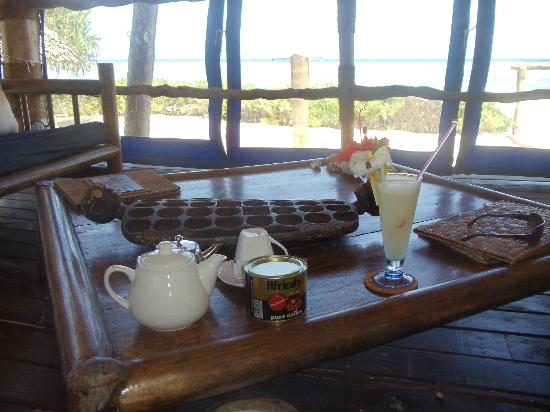 Villa Kiva Resort and Restaurant: coffee time