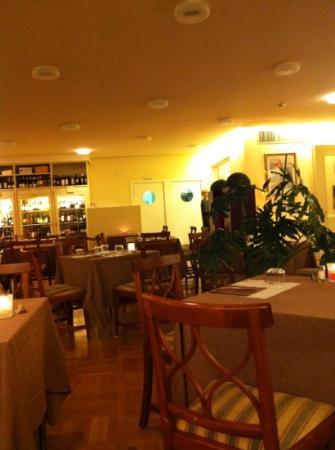 Orobasilico : interno ristorante