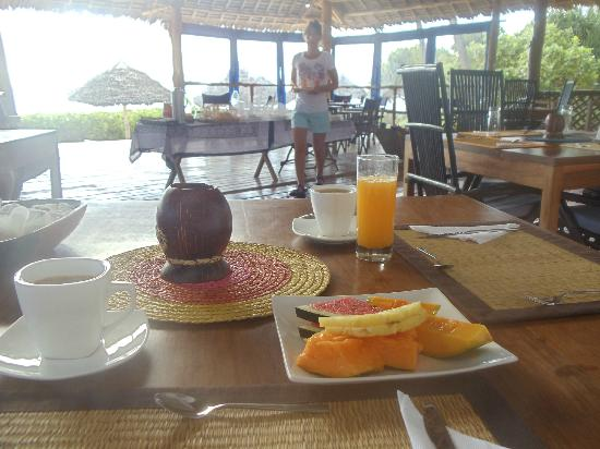 Villa Kiva Resort and Restaurant: breakfast