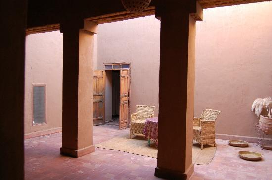 Dar Paru : Der Innenhof vor meinem Zimmer