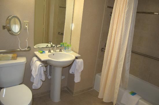 hilton garden inn reagan national airport hotel toilet and bathroom - Hilton Garden Inn Reagan National Airport
