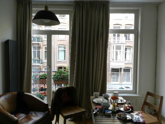 Le Quartier Sonang: vue à partir de la chambre de ville