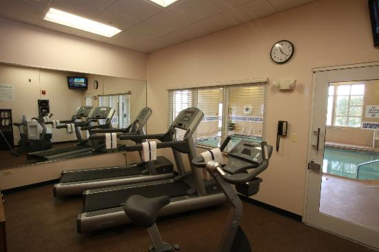 Holiday Inn Express Hotel & Suites Chicago-Algonquin: Fitness Center