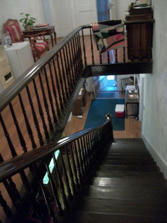 Hockman Manor House B&B: Staircase