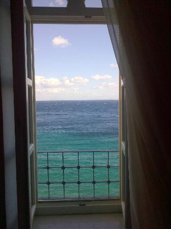 Apollonion Palace: view from the honeymoon suite