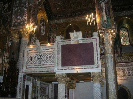 Palazzo dei Normanni: la cappella Palatina