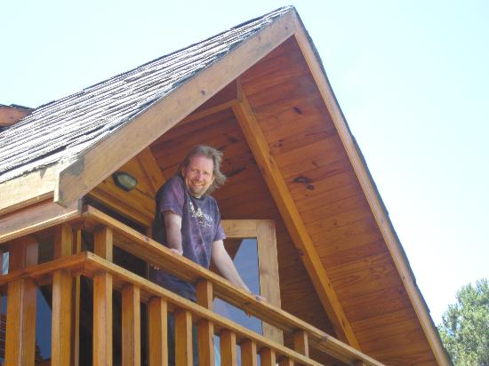 Abalone Lodges: Top floor balcony