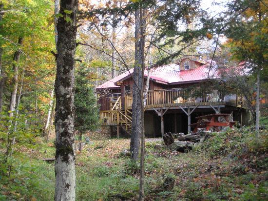 阿爾岡金生態小屋照片