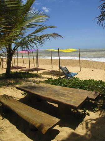 Pousada Casa da Praia : la playa