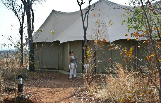 The Elephant Camp: that's one enormous tent for 2 people