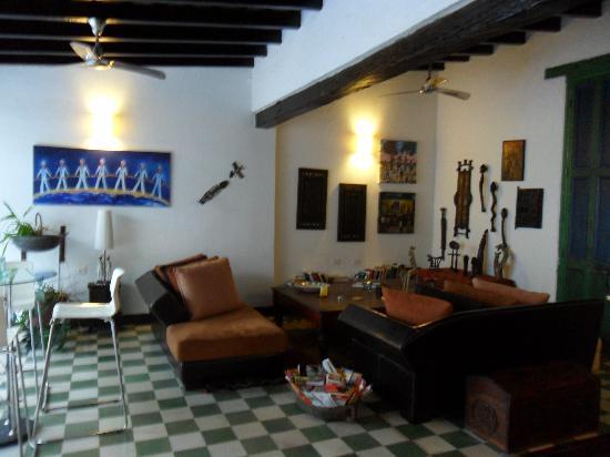 Hotel Casa Amani: Sala