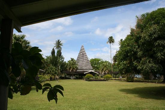 Paul Gauguin Museum: Out buildings at museum