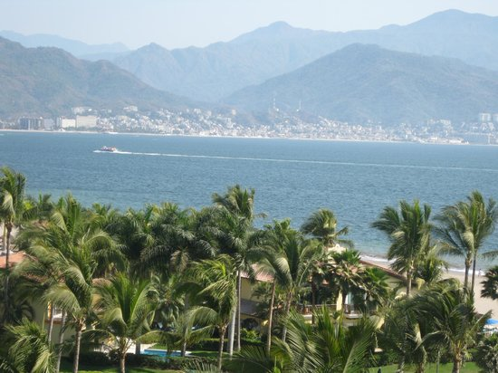 Velas Vallarta: view of downtown Puerto Vallarta