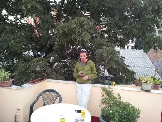 Dachterrasse Casa Helbling