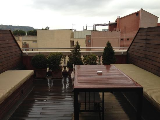 Hotel 1898: terrace