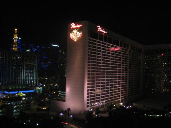 Hilton Grand Vacations at the Flamingo: View from HGVC room on 17th floor. Great!