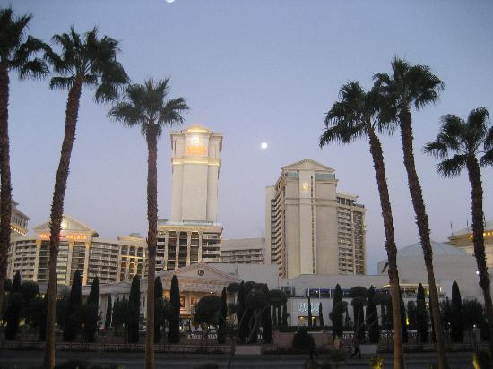 Hilton Grand Vacations at the Flamingo: On the strip at 6am