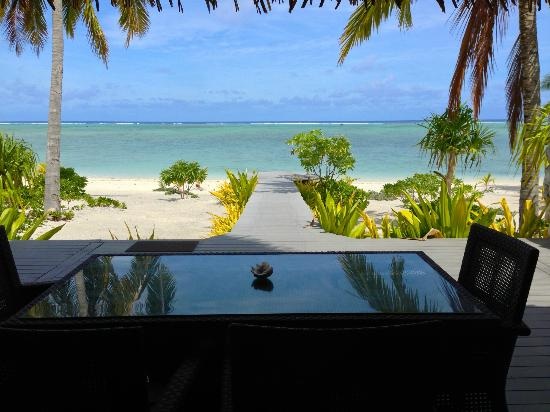 Aitutaki Escape: The view was amazing!