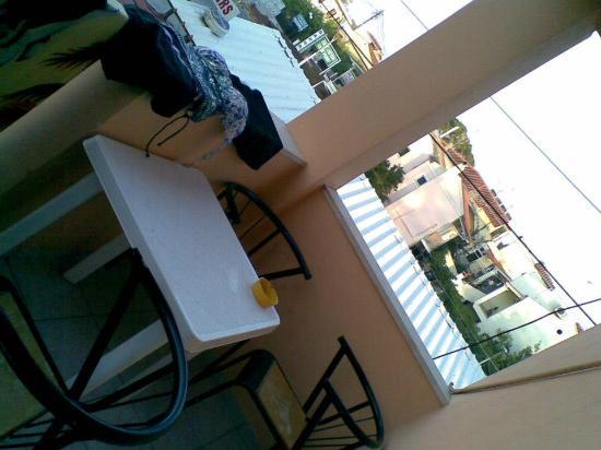 Odysseus & Agnes Apartments: balcony