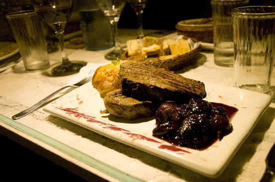 Bouland Uruguay: uno de sus platos...