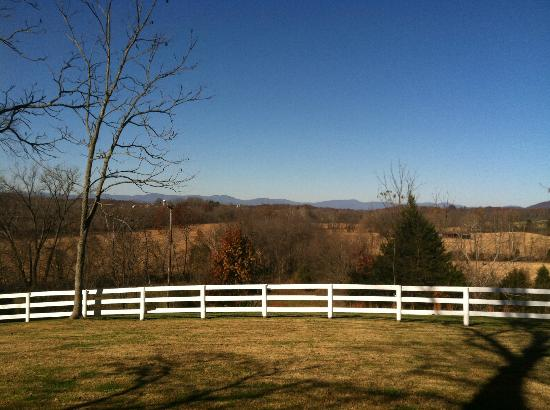 Inn at Meander Plantation: View on ground of mountains
