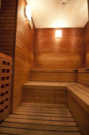 Okinawa Grand Mer Resort: Sauna in the shower room