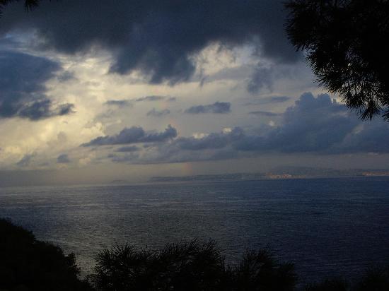 La Tonnarella: View from our room