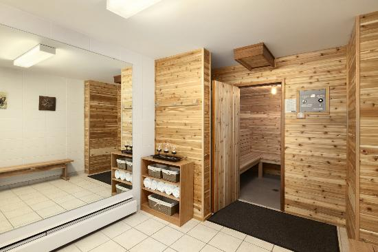 Travelodge Nanaimo : Newley renovated Sauna