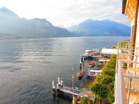 Hotel Metropole Bellagio: View from balcony
