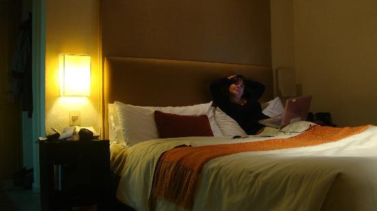 Galileo Boutique Hotel  Bariloche: habitacion cama