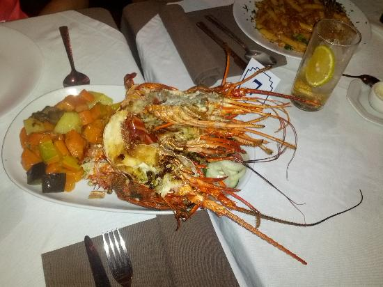 Lounge Bar Ponto G Restaurant: Deliciosa lagosta!