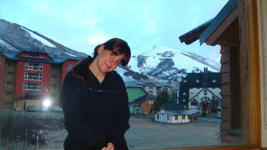 Galileo Boutique Hotel  Bariloche: vista diuran desde habitacion