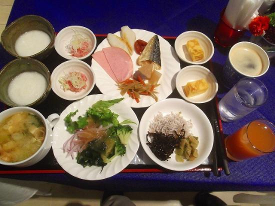Grand Park Hotel Panex Tokyo: 他に茶そば・洋食・各種パン等も有り品数豊富です