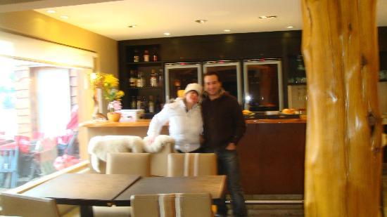 Galileo Boutique Hotel  Bariloche: lobby comedor