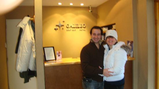 Galileo Boutique Hotel  Bariloche: lobby entrada al hotel