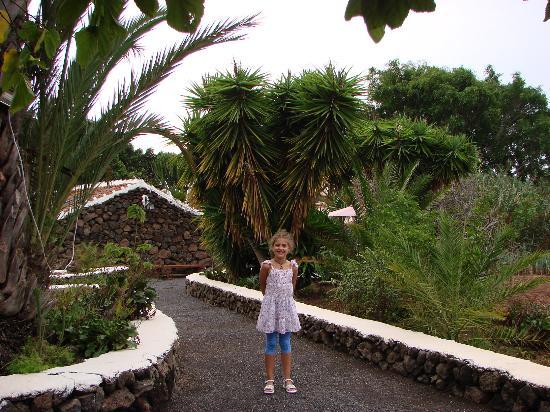 Finca Las Gangarras: The garden