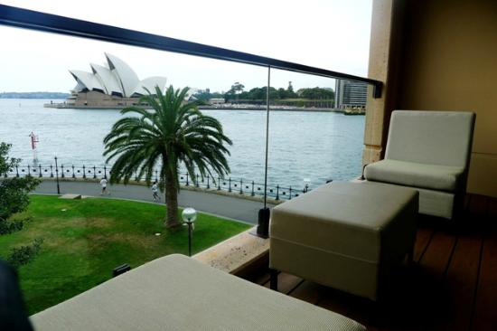 Park Hyatt Sydney: View From Our Porch