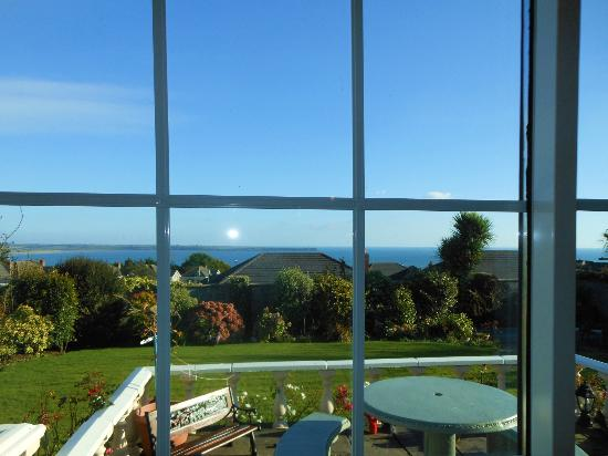 Glenorney by the Sea: view from our bedroom