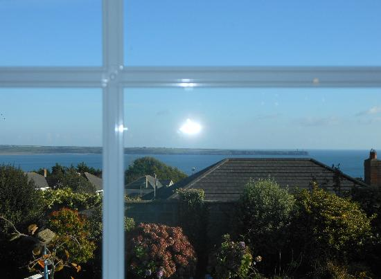 Glenorney by the Sea: view from our bedroom 2