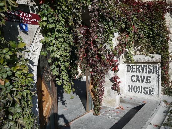 Dervish Cave House: Entrance daylight