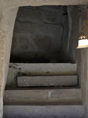 Dervish Cave House: Entrance to the cave room